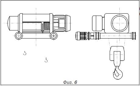 тележка передвижения по двурельсу