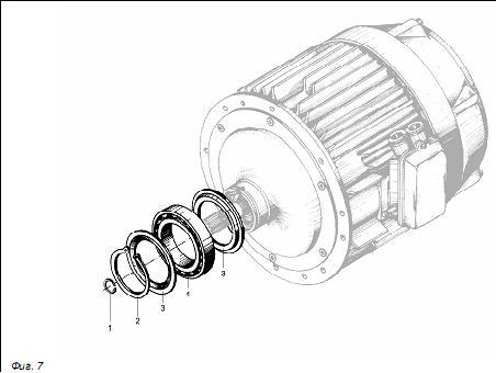 электродвигатель подъема детали