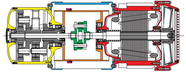 Общая схема тельфера